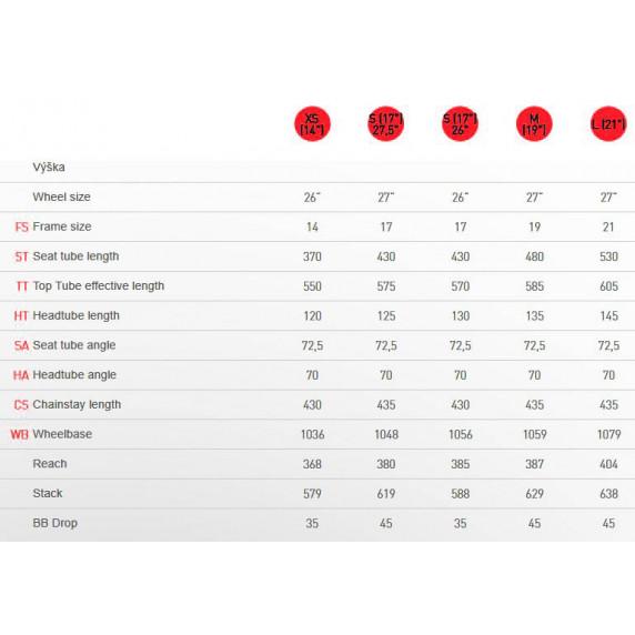 """KROSS MTB Hegyi kerékpár HEXAGON 3.0 21"""" L 2021 - matt fekete / piros / ezüst"""