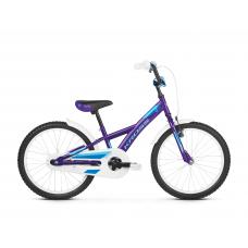 """KROSS Gyerek kerékpár Mini 5.0 10"""" 2019 - fényes lila / kék"""