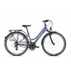 """KROSS Trekking Női kerékpár Trans 2.0 DL 19"""" 2021 - fényes kék/fehér Előnézet"""