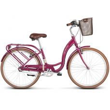 """LE GRAND Utility Női városi kerékpár Lille 3 15"""" S 2020 - fényes rózsaszín"""