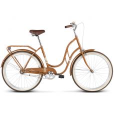 """LE GRAND Classic Női kerékpár Madison 1 18"""" M 2019 - fényes barna Előnézet"""