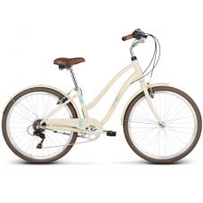 """LE GRAND Comfort Női városi kerékpár Pave 1 14"""" S 2019 - fényes krémszínű"""