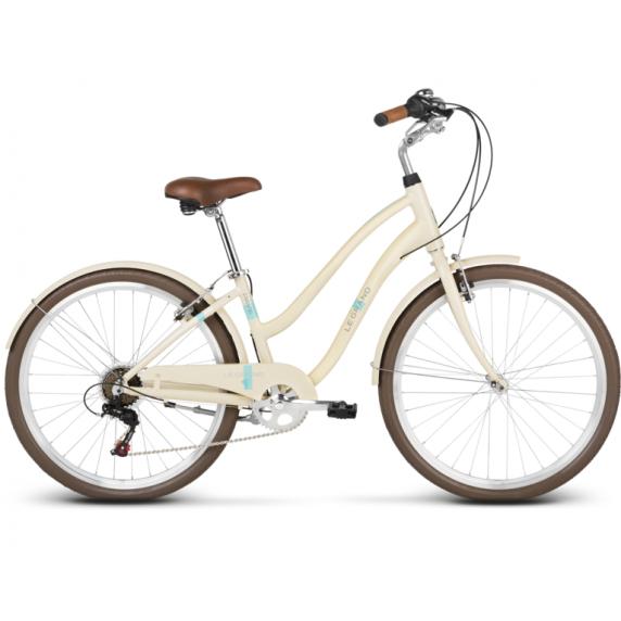 """LE GRAND Comfort Női városi kerékpár Pave 1 16"""" M 2019 - fényes krémszínű"""