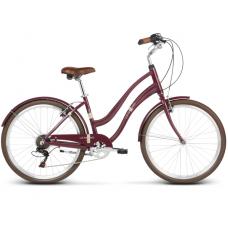 """LE GRAND Comfort Női városi kerékpár Pave 1 14"""" S 2019 - fényes cseresznye"""