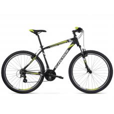 """KROSS MTB Hegyi kerékpár HEXAGON 2.0 14"""" XS 2020 - matt fekete / fehér / lime Előnézet"""