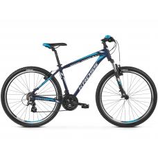 """KROSS MTB Hegyi kerékpár HEXAGON 2.0 14"""" XS 2020 - matt sötétkék / ezüst / kék Előnézet"""