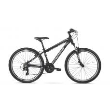 """KROSS MTB Hegyi kerékpár HEXAGON 14"""" XS 2020 - fényes fekete / fehér / grafit szürke Előnézet"""