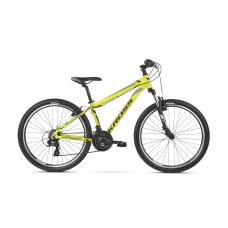 """KROSS MTB Hegyi kerékpár HEXAGON 19"""" M 2020- fényes sárga / fekete / szürke Előnézet"""