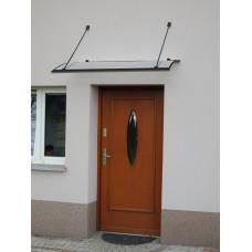 LANITPLAST bejárati tető TURKUS 140/85 - Antracit Előnézet