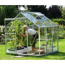 LanitGarden üvegház átlátszó üveggel VITAVIA VENUS 5000 3 mm - Ezüst Előnézet