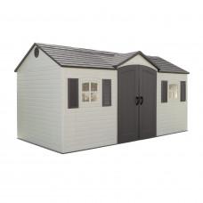 Műanyag kerti tároló ház LIFETIME 6446 GARTEN VILLA Előnézet