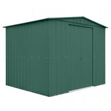 Kerti tároló ház tetőablakkal GLOBEL 108 - Zöld Előnézet