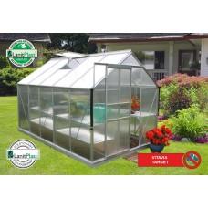 LanitGarden üvegház VITAVIA TARGET 6200 PC (4 mm) - Ezüst Előnézet