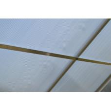 LANITPLAST Tetősín PLUGIN 6x12 üvegházhoz  Előnézet