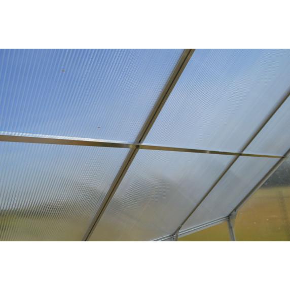 LANITPLAST Tetősín PLUGIN 6x12 üvegházhoz