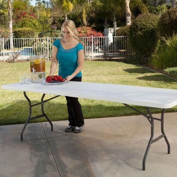 Összecsukható asztal 244 cm LIFETIME 80270