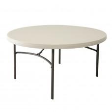 Kerek összecsukható asztal 152 cm LIFETIME 80121 Előnézet