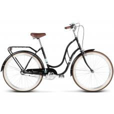 """LE GRAND Classic Női kerékpár Madison 2 18"""" 2020 - fekete Előnézet"""