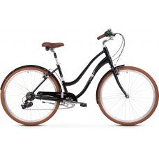 """LE GRAND Comfort Női városi kerékpár Pave 2 18"""" M 2020 - fekete Előnézet"""