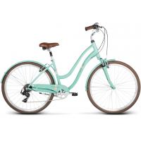 """LE GRAND Comfort Női városi kerékpár Pave 3 18"""" 2020 - szeladon zöld"""