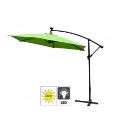 Aga EXCLUSIV 300 cm LED függő napernyő - Világos zöld Előnézet