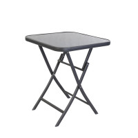 Kerti asztal Linder Exclusiv BISTRO MC330852DG 70 x 70 x 70 cm