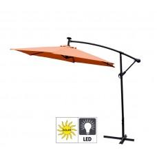 Aga EXCLUSIV 300 cm LED függő napernyő - Narancssárga Előnézet