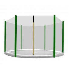 AGA védőháló 180 cm átmérőjű trambulinhoz 6 rudas - Sötét zöld Előnézet