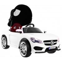 Roadster Cabrio elektromos kisautó - Fehér