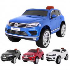 Volkswagen Touareg elektromos kisautó - lakozott kivitelben Előnézet