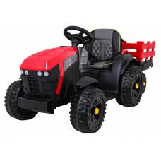 Titanium traktor utánfutóval - piros