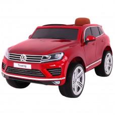 ELektromos kisautó Volkswagen Touareg lakozott - Piros