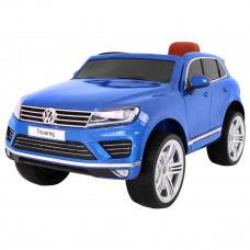 Volkswagen Touareg elektromos kisautó lakozott - Kék
