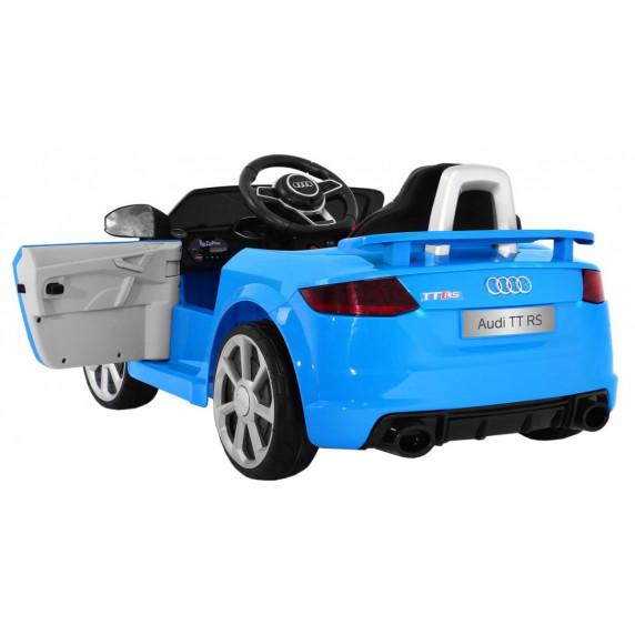 AUDI Quatro TT RS EVA 2.4G elektromos kisautó - kék
