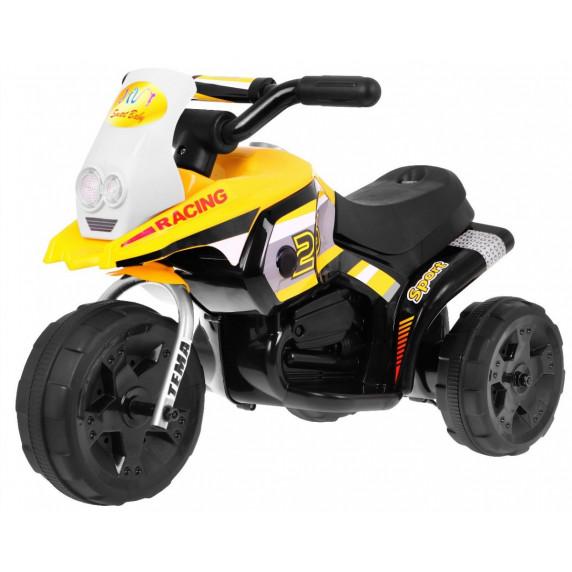 HV318 Racing elektromos háromkerekű - Sárga