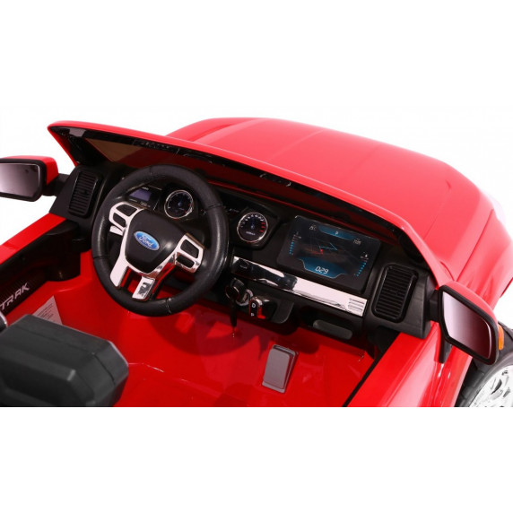 FORD Ranger 4x4 FaceLifting elektromos kisautó - Piros