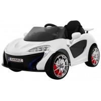Small Racer elektromos kisautó - Fehér