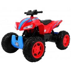 Inlea4Fun QUAD SPORT RUN Elektromos négykerekű - piros Előnézet
