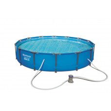 BESTWAY 56595 Steel Pro Max 427x84 cm medence vízforgatóval  Előnézet