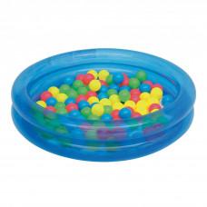BESTWAY 51085 gyerekmedence labdákkal - kék Előnézet