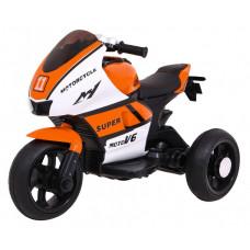 Elektromos háromkerekű SUPER Motorcycle  - narancssárga