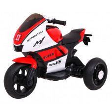 Elektromos háromkerekű SUPER Motorcycle  - fekete-piros