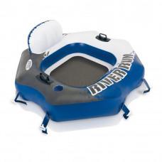 INTEX 58854EU felfújható matrac úszófotel RIVER RUN 130 x 126 cm Előnézet