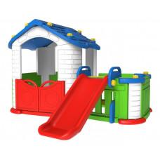 Inlea4Fun 3 az 1-ben kerti játszóház - kék Előnézet