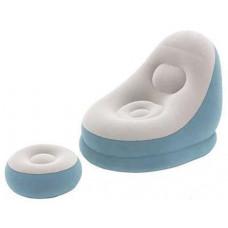 Felfújható fotel BESTWAY 75053 Comfort Crusier Air Chair - kék Előnézet
