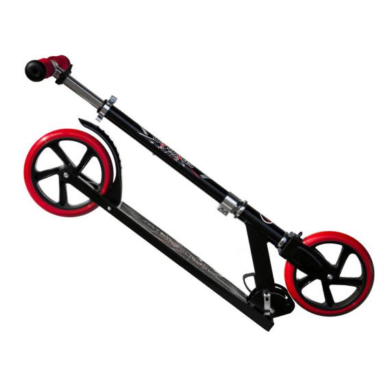 Roller SPARTAN Jumbo 205 mm - Fekete/piros