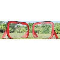 Összehajtható focikapu szett SPARTAN Pop Up Soccer Goal 125 x 80 cm