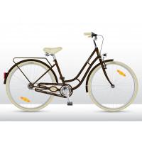VEDORA Elegance 28 női kerékpár - Barna
