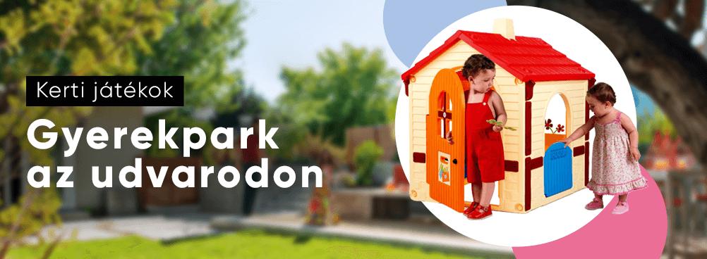 Kerti játékok - Gyerekpark az udvaron